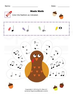 Thanksgiving – Music Math