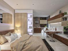 Квартира-студия 24 кв.м - SMART&MINI. Квартира до 30 кв. метров | PINWIN…