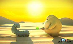 Gobo and Webster lost in the desert looking for water! Photos of the summer of Glumpers, cartoons for kids ---------- Gobo y Webster perdidos en el desierto, buscando agua! Fotos de las vacaciones de verano de los Glumpers, dibujos animados para niños