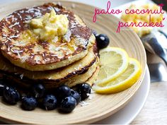 We couldn't look past Irena Marci's coconut pancakes with lemony butter, so here's the recipe!