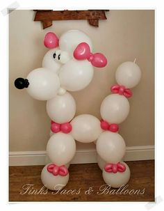 BIG Balloon Poodle Balloon Hat, Balloon Words, Unicorn Balloon, Balloon Crafts, Balloon Flowers, Balloon Animals, Balloon Columns, Balloon Arch, Balloon Garland