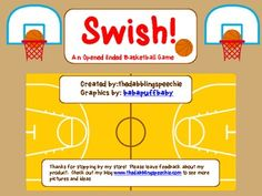 Free! SWISH! An Opened Ended Basketball Game just in time for March madness!