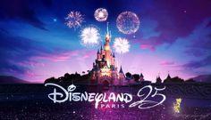 Disneyland Paris 25ème anniversaire officiel ! Longue vie à Disney. / Disneyland Paris official 25th anniversary ! Long live Disney.