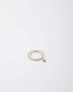 Inez and Vinoodh for TEN THOUSAND THINGS   Black Tahitian Pearl Ring   La Garçonne