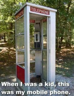 They had these telephone booths everywhere.Now you can't even find a phone booth! My Childhood Memories, Sweet Memories, 1970s Childhood, Cherished Memories, School Memories, Telephone Booth, Vintage Telephone, Photo Vintage, Oldschool
