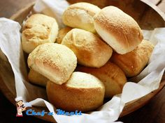 How to Make Pandesal? -   Ingredients 3 cups bread flour 1 1/2 cups all purpose flour 1/2 cup sugar 1 tsp salt 2 1/4 tsp of active dry yeast 3 egg yolks 3/4 cups evaporated milk/fresh milk 1/2 cup melted butter 1/2 cup water extra flour for kneading  Procedure Dissolve yeast and sugar( take 1 tbsp from 1/2 cup sugar) in warm water. Stir to dissolve and let stand for 10 minutes. Set aside. In a large bowl, combine the bread flour, all purpose flour, rema...