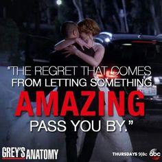 Greys Anatomy  Regrets.....