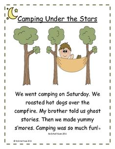 I would like to thank all those who have purchased my Camping Under The Stars mini-lesson by giving away my camping reading and word work activitie...