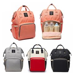 Reasonable Fashion 4pcs Mommy Baby Dot Nappy Women Pattern Leather Hospital Multifunction Bag Healthcare Kits Dropship Cc# Grooming & Healthcare Kits