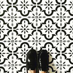 Home | Nicolette Tabram Stencils Stencil Fabric, Stencil Diy, Stencil Painting, Stencils, Painted Floorboards, Painted Floors, Diy Flooring, Laminate Flooring, Stenciled Floor