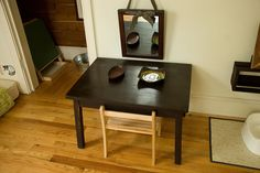 """finn's room :: 15"""" - high table, infant chair from www.mic… 