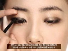 the best tutorial for eye makeup for monolids I've found so far. per my monolid self. i gotta try this out Asian Makeup Tips, Asian Makeup Looks, Korean Makeup, Monolid Makeup, Hair Makeup, Makeup Eyes, Asian Makeup Before And After, Beauty Make Up, Hair Beauty