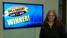 Congrats to Debbie Dvorak who won $100 in The Great Gas & Grocery Giveaway from KXLY4, Divine's & Yokes!