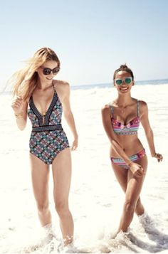 cute and colorful summer swimsuits