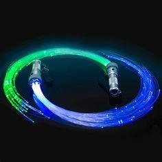 X.LED Space Whip Poi Pair