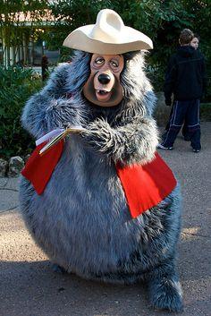 Big Al from Country Bears Jamboree- I miss them in Disneyland :(