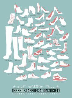 The Shoes Appreciation Society - Design Atento
