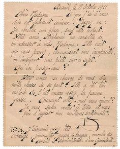 Erik SATIE (1866-1925). L.A.S. (monogramme), Arcueil 8 octobre 1911, à Mme Bazin, à Paris ; 1 page in-12 avec adresse au verso.