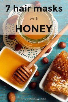 DIY: haarmaskers met honing voor haargroei - One Hand in my Pocket Homemade Skin Care, Natural Treatments, Detox, Hair Care, Hair Beauty, Breakfast, Hair Styles, Pocket, Food