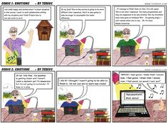 #storytelling_INTEF. This is my Toondoo comic book showing emotions. I hope you like it.  http://www.toondoo.com//ViewBook.toon?bookid=547521 http://www.toondoo.com/ Module 2