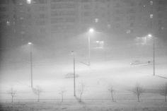 Moscow. Foggy night (1988)