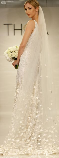 Style Unveiled - Style Unveiled  |  A Wedding Blog - THEIA White for Fall 2014 - Wedding Dresses -Lorraine