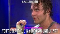think you my sexy future husband dean ambrose and makes me feel good and  inside awesome the sweetest person on earth and i'm sherri dean ambrose and dean ambrose you are the sexyest man alive godbless you darling