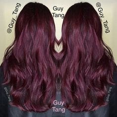 "@GuyTang ""I lifted my client Melinda's hair using Kenra Color 40vol with ammonia free lightener balayage method. 6rr #kenra DEMI overlay. I love the RR series in #kenra. So intense. She also had previous old red dyes beneath which contribute to end result!"""