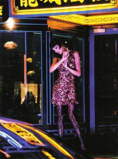 Anja Rubik + Ellen von Unwerth for Vogue Italia