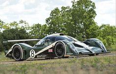 2001 Bentley Speed 8 Le Mans Prototype Racing Car