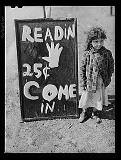 Bohémienne, sur US 13, à cinq miles au sud de Salisbury, Maryland : photo Jack Delano par mai 1940
