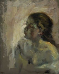 Study of a Girl's Head  Edgar Degas (1834–1917)  National Galleries of Scotland, Scottish National Gallery
