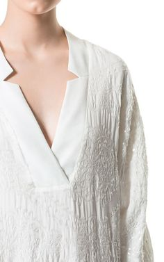 Image 4 of SEQUINNED TUNIC DRESS from Zara