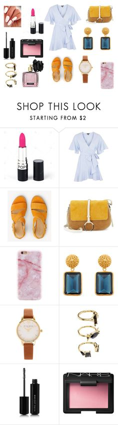"""Sin título #5970"" by gise19 ❤ liked on Polyvore featuring Topshop, rag & bone, Halston Heritage, Julie Vos, Olivia Burton, Noir Jewelry, Marc Jacobs, NARS Cosmetics and Victoria's Secret"