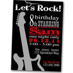 Discover and share Rock And Roll Birthday Quotes. Explore our collection of motivational and famous quotes by authors you know and love. Rock And Roll Dance, Rock And Roll Birthday, 2nd Birthday Boys, 40th Birthday Parties, Birthday Ideas, Themed Parties, Rockstar Party, Rockstar Birthday, Rock And Roll Quotes