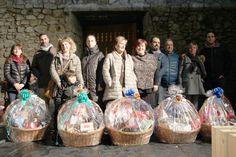 todos los ganadores de las cestas de navidad