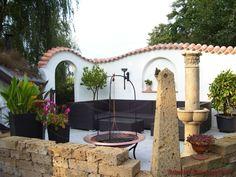 Teja Curva - Farbe Viellja castilla Diy Garden Bed, Patio Interior, Natural Building, Diy Home Crafts, Pergola, Outdoor Structures, Outdoor Decor, Decorating, Projects