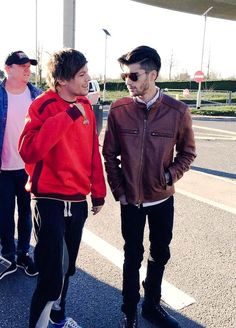 Zouis arriving at Heathrow airport 3/3/15