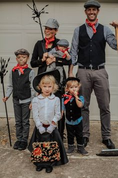 Family Halloween Cos