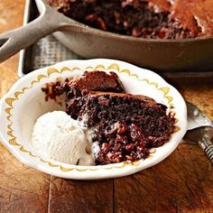 Try recipes made in cast-iron skillets, a decadent chocolate pumpkin cake, slow-cooker stew and more.