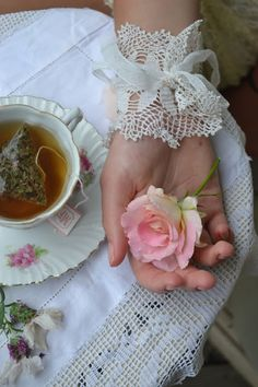 Vintage Cuff from Damita's Pretty Wrap ~ the perfect accessory to wear for afternoon tea!