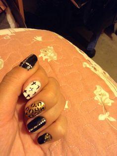 Nice dark nails