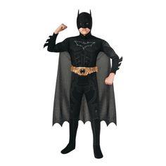 Kids' Light-Up Deluxe Muscle Chest Batman(TM) Costume