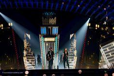 Die Journalisten und Fotografen durften heute die Proben in der Halle anschauen und die erste Fotos machen: http://www.eurovision-austria.com/de/semifinale-1-die-zweite-proben-der-teilnehmer/ ------------------------------- #esc #eurovision #austria #buildingbridges