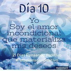 #Día10: La intención es el verdadero poder detrás del deseo. Deepak Chopra. #RetoPiensoPositivo #21DíasPensandoPositivo