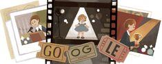 Google rend hommage à Shirley Temple [#Doodle]   UnSimpleClic Santa Monica, Google Doodles, Foreign Service Officer, Public Service, Les Doodle, Shirley Temple, Child Actors, Kid Movies, New Names