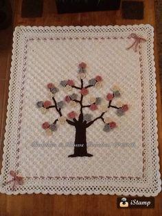 C2c blossom tree Pram buggy Blanket