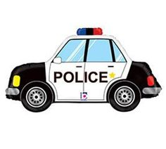 Police Car Balloon - Police Party Decorations, Police Birthday, Police Party Supplies, Sheriff B Police Retirement Party, Police Party, Birthday Party Celebration, Birthday Party Decorations, Fireman Wedding, Fun Police, Transportation Party, Fathers Day Crafts, Foil Balloons