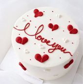 Newest Pic fruit cake wedding Suggestions - yummy cake recipes Valentines Cakes And Cupcakes, Valentine Desserts, Valentine Cake, Cupcake Cakes, Pretty Birthday Cakes, Pretty Cakes, Cute Cakes, Yummy Cakes, Cake Birthday