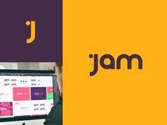 Jam Logo by Olly Sorsby #Design Popular #Dribbble #shots